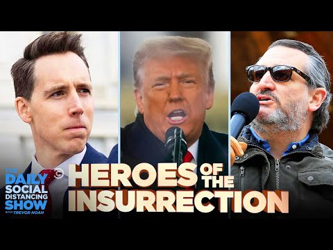 Saluting the Heroes of the Insurrection | The Daily Social Distancing Show