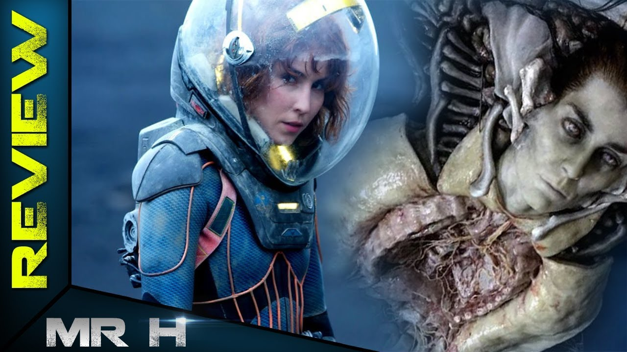 What David Did To Elizabeth Shaw On The Engineer Dreadnought REVEALED!  Alien Covenant Prologue