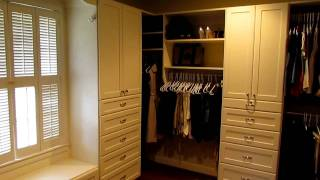 Spacious Walk-in Closet By Atlanta Closet & Storage Solutions