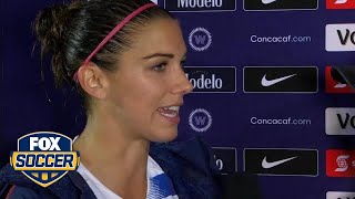 Alex Morgan happy with USWNT performance throughout CONCACAF | 2018 CONCACAF Women's Championship