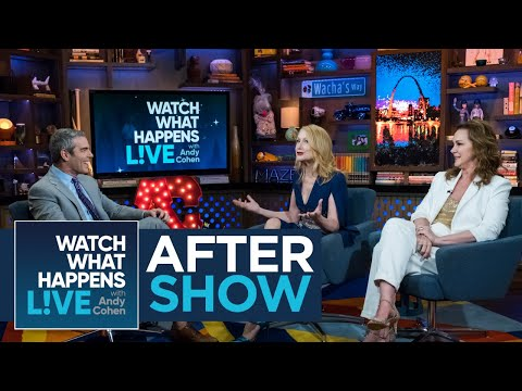 After : Elizabeth Perkins girled Over Elizabeth Taylor  WWHL
