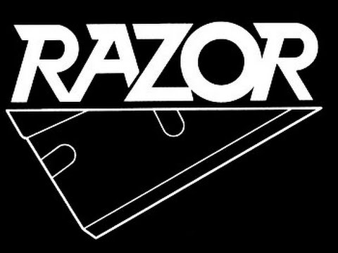 Razor - Evil Invaders (Lyrics on screen)