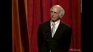 Larry David Hilarious Laurel Award Acceptance Speech