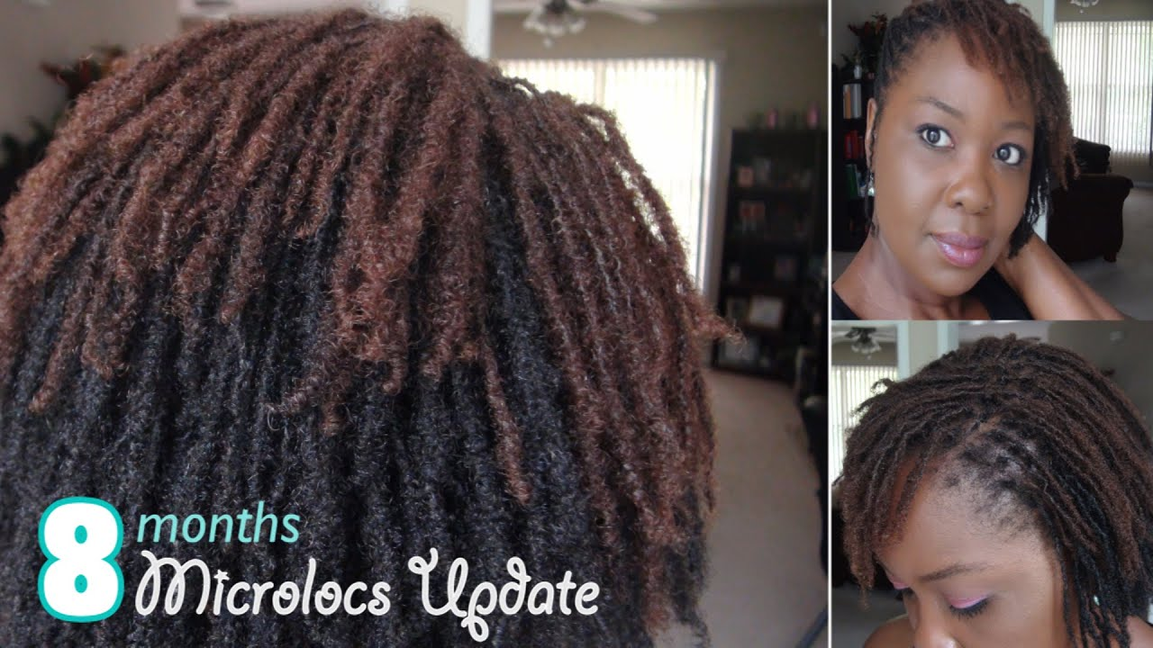 My Microlocs Journey Update For 6th 7th And 8th Month