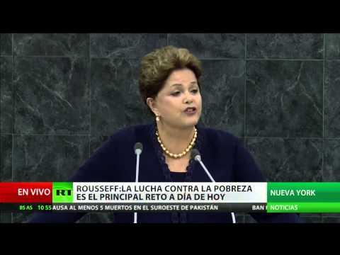 VERSIÓN COMPLETA: Discurso de Dilma Rousseff en la Asamblea General de la ONU