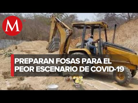 Preparan 300 fosas en panteón de Acapulco para muertes por covid-19