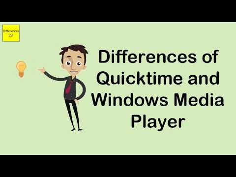 Differences Of Quicktime And Windows Media Player