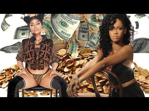 Nicki Minaj vs Rihanna - Rich Life, Net Worth 2018. Who is richer?