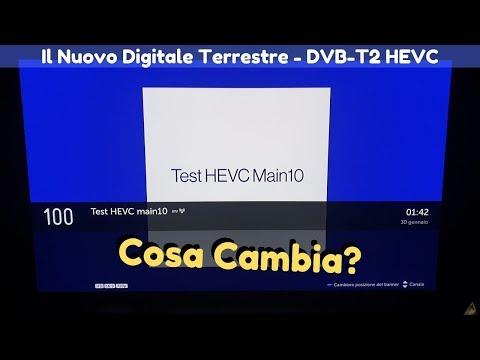 Non Vedo I Canali 100 E 200 Sul Digitale Terrestre: Cosa Devo Fare??? - DVB-T2 HEVC 📺