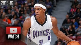 Rajon Rondo Triple-Double Highlights vs Pistons (2015.11.11) - 14 Pts, 15 Ast, 11 Reb