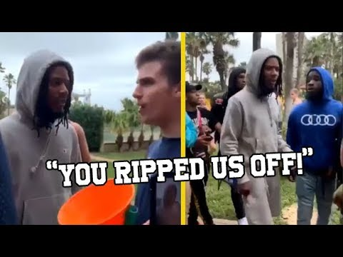 """Fetty Wap Throws Money At Upset """"Fan"""" Who Claims He Got Ripped Off!"""