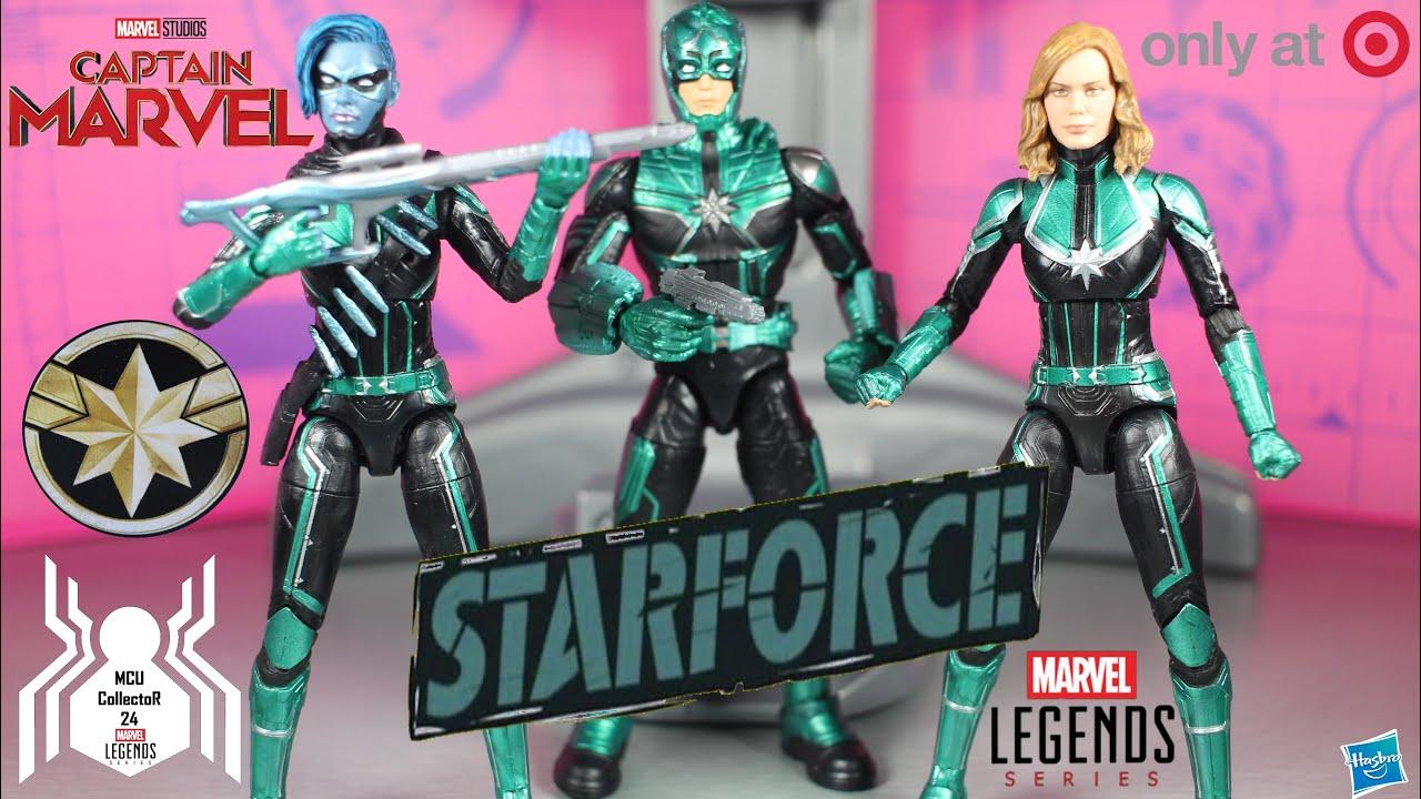 marvel legends captain marvel starforce minn-erva target exclusive