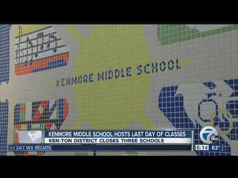 Final last day of school for Kenmore Middle School students, teachers