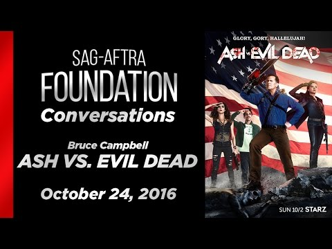 Conversations with Bruce Campbell of ASH VS. EVIL DEAD