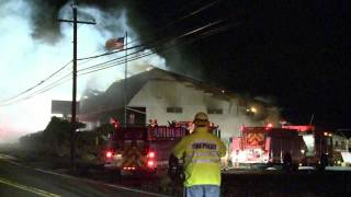 03.06.13 - 2nd ALARM; STRUCTURAL FIRE; ALLEN TWP., PA