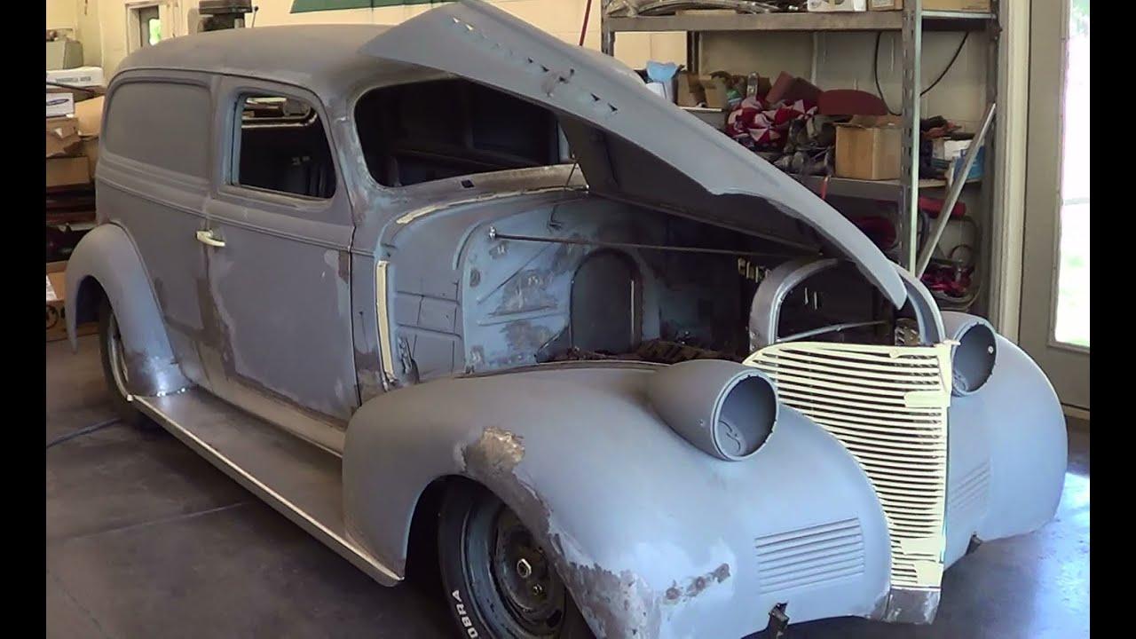 1939 Sedan Delivery Project prt2