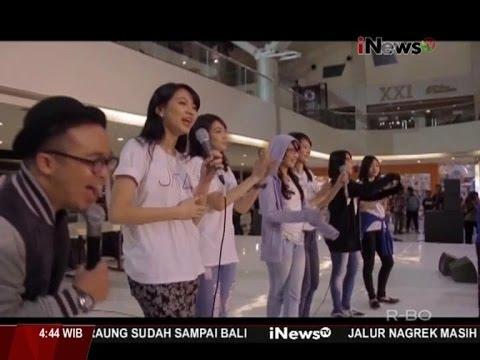 JKT48 Keliling Refrain Penuh Harapan di Surabaya