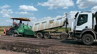Капитальный ремонт трассы Н-14 в Николаевской области выполняет компания ''Ростдорстрой''