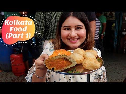 Kolkata Street Food (Part 1) | Kathi Roll, Biryani, Victoria Memorial & More | Golgappa Girl