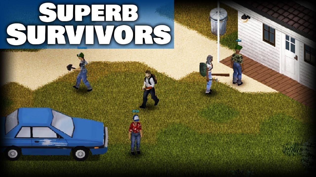 OUTBREAK   Project Zomboid Superb Survivors   Survivor NPC Mod   Build 20  IWBUMS Experimental 20