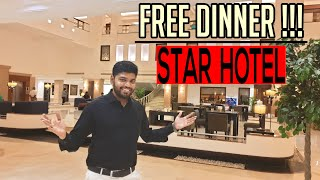 Free Dinner At Five Star Hotel | Green Park hotel | Tamil Foodie
