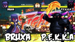 Street Clans - BRUXA x P.E.K.K.A´s - Clash of Clans