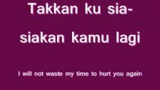 Losing You (Kehilangan) - Firman Idol (Lyrics)