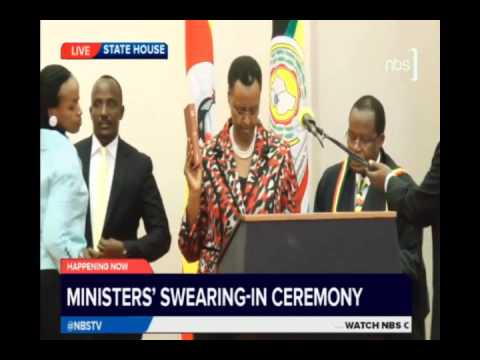 Ministers Take Oath of Office