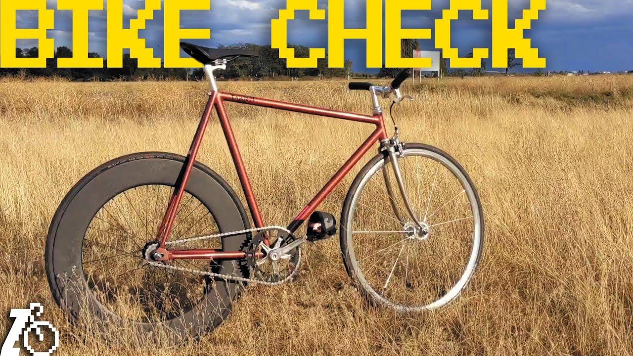 Germany still makes bikes? | Fixed Gear Bike Check