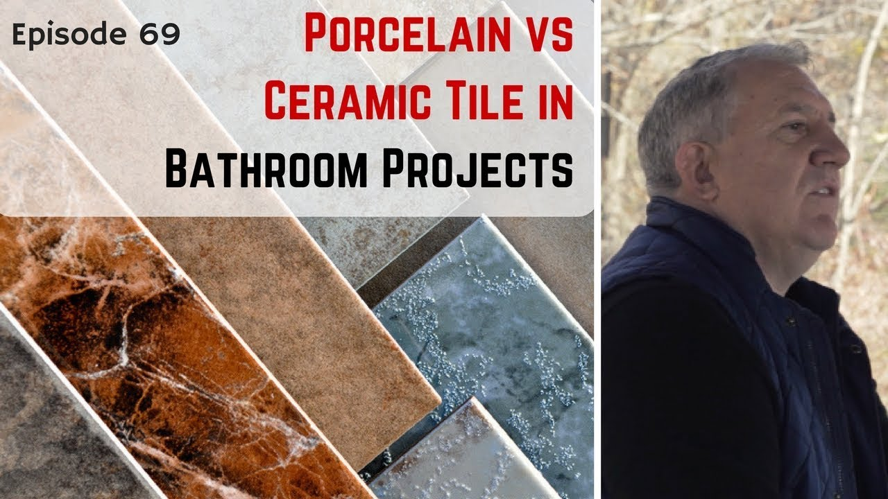 Porcelain tile vs ceramic tile key differences in bathroom porcelain tile vs ceramic tile key differences in bathroom remodeling projects dailygadgetfo Gallery