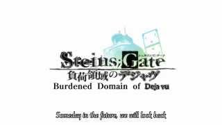 "Steins;Gate The Movie Ending Song ENGLISH SUBS ""Itsumo Kono Basho de いつもこの場所で Always in this Place"""