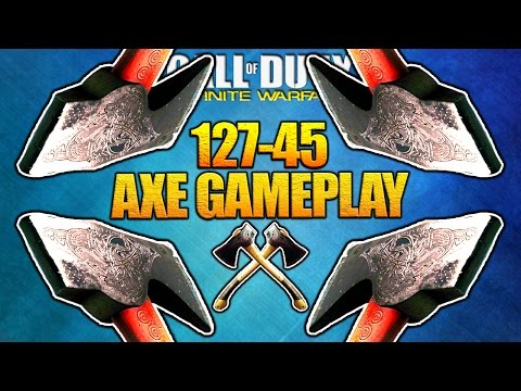 Epic Axe Headsman Raw Gameplay for 25 Minutes - Infinite Warfare Multiplayer