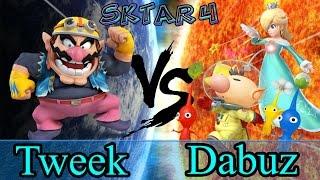 SKTAR 4 - Tweek (Wario) vs Dabuz (Rosalina) Losers Finals
