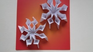 Snowflakes 25 Days Of Origami Day 10