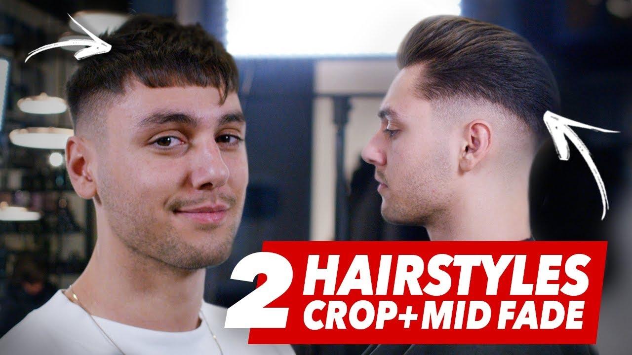 Mid Fade Undercut Vs Crop Hairstyle Best Mens Haircut Ideas