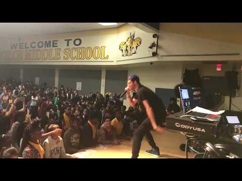 Empowerment Through Music Program  Austin Lanier live at Welch Middle