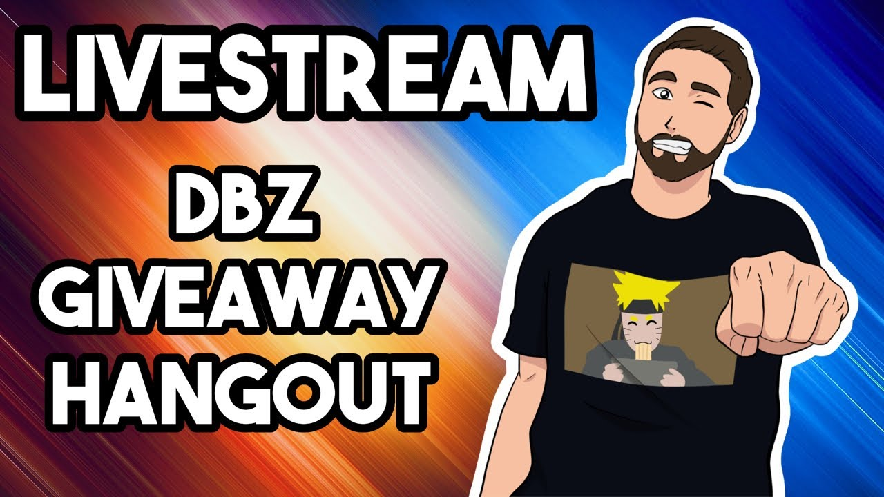 🔴 LIVESTREAM! DBZ Giveaway & Hanging Out!