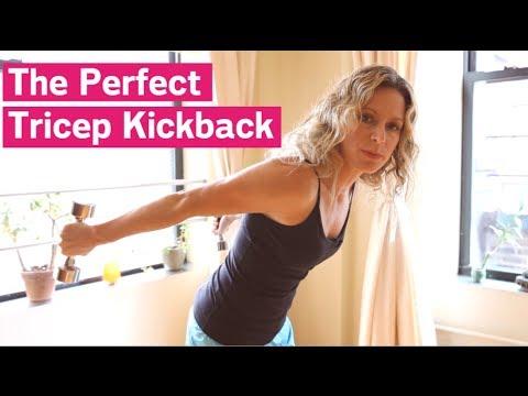 The Perfect Tricep Kickback