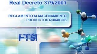 CURSO DE ALMACENAMIENTO DE PRODUCTOS QUIMICOS