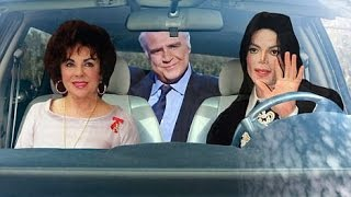 Michael Jackson Takes A Road Trip in