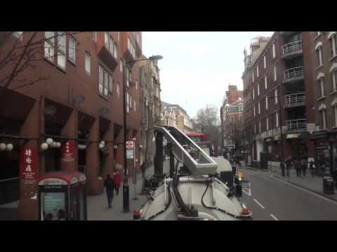 London Bus Ride 176 - Strand to Denmark Street