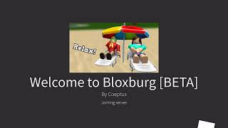 Roblox playing blog burg (with my friend Ashley )