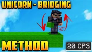 Minecraft Video: Unicorn Bridging method in Bedwars! Server IP▻ Mc....