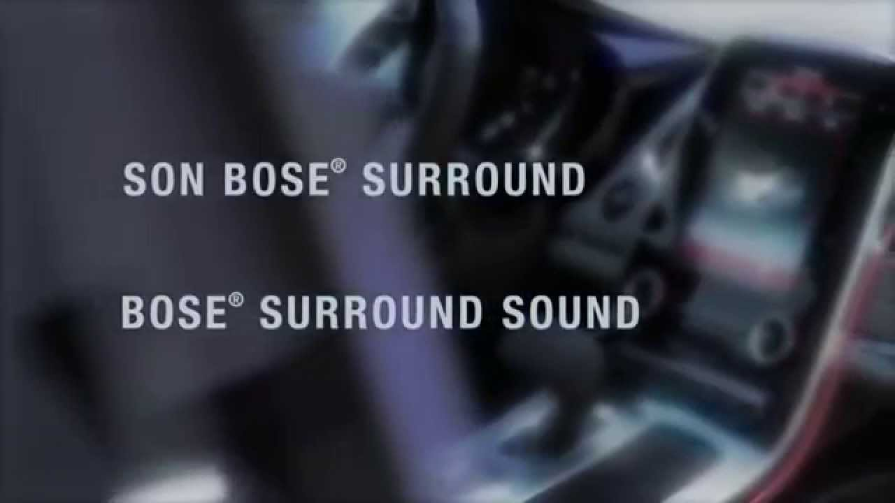 Bose Sound System >> NEW ESPACE : THE BOSE® SURROUND SOUND SYSTEM // NOUVEL ESPACE : LE SON BOSE® SURROUND - YouTube