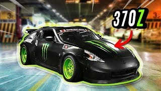 FUI NO SHOPPING COM 370Z DE DRIFT DA MONSTER «Bruno Bär»