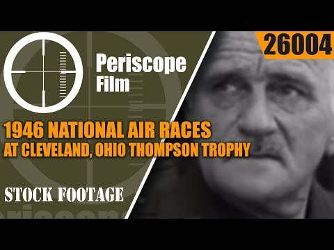 1946 NATIONAL AIR RACES at CLEVELAND, OHIOTHOMPSON TROPHY26004