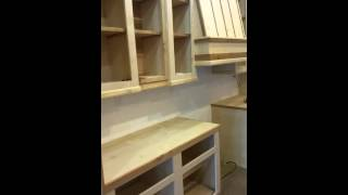 Custom Cedar Birch Cabinets