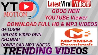 Youtube Video Download mp3 new Site 2018