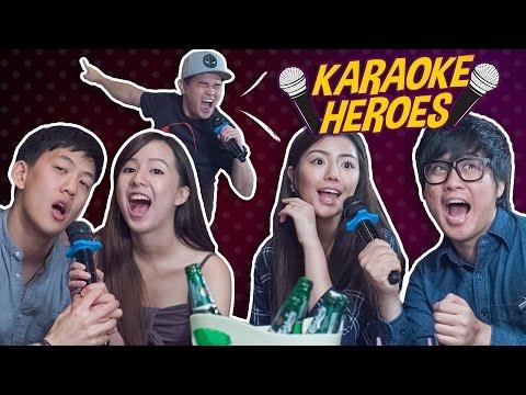 Karaoke Heroes (Types of Karaoke Singers) - JinnyboyTV