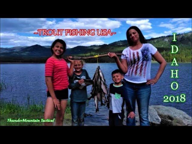 Horsethief Reservoir Family Trout Fishing Adventure-Idaho!!